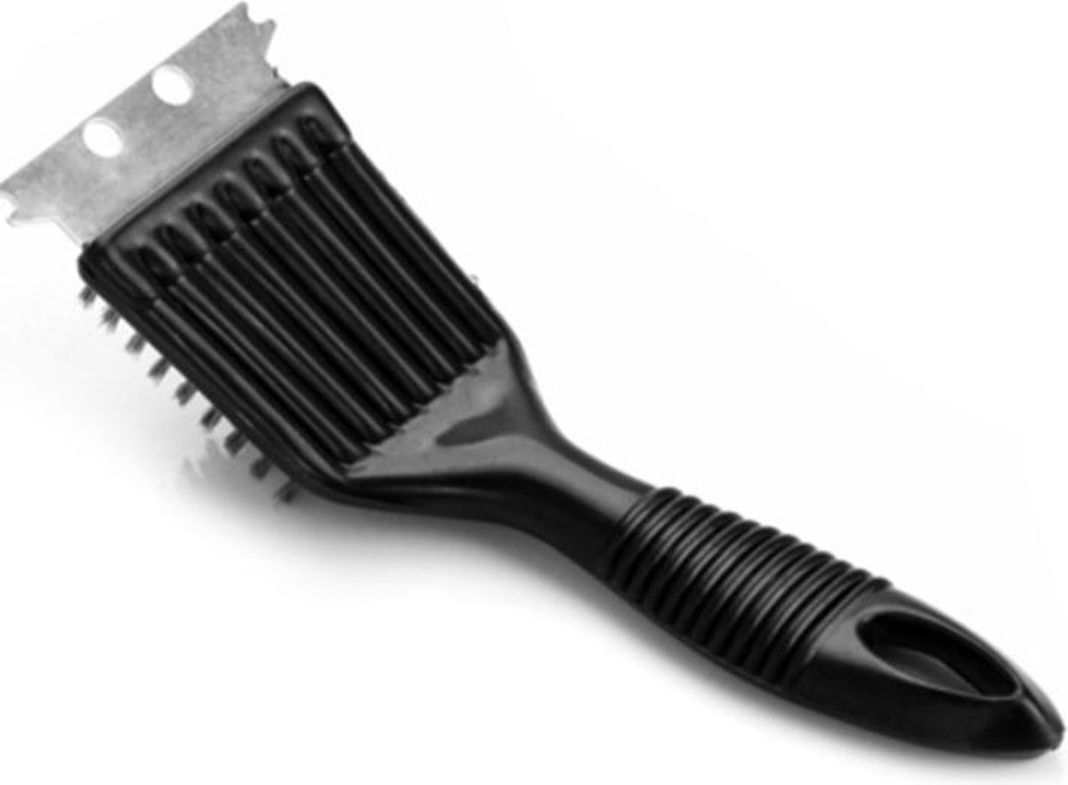 Barbecue Brush - Barbecueborstel 3 in 1 - BBQ Grill - Barbeque - Grill platen - Tosti apparaat - Diepe schoonmaak - RVS borstel
