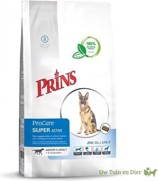 Prins Procare Super Active Hondenvoer 20kg + verrassing