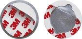 Smartwares RMAG3 Magnetische Montageset - 50 mm - Geschikt voor elke rookmelder en koolmonoxidemelder.
