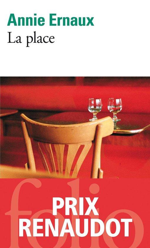 Boek cover La Place van Annie Ernaux (Onbekend)