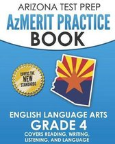 Arizona Test Prep Azmerit Practice Book English Language Arts Grade 4