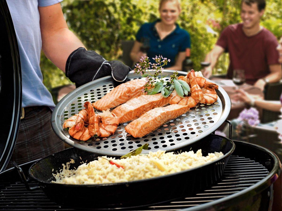 Gourmetset S - Set van pan en bakrooster - Outdoorchef