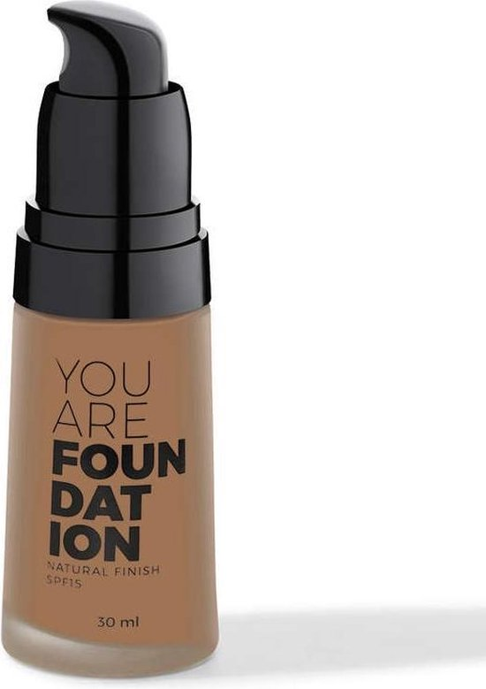 You Are Cosmetics Liquid Foundation Cream 30ml. Chestnut #30209