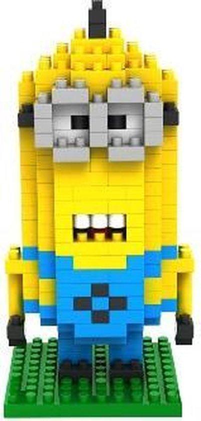Bouw zelf je eigen Minions met deze bouwsteentjes 220pcs gelijkaarig aan Lego