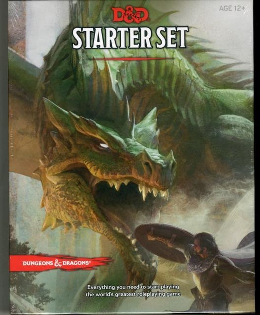 Dungeons en Dragons Roleplaying Game Starter Set (D&D Boxed Game) - Wizards of the Coast