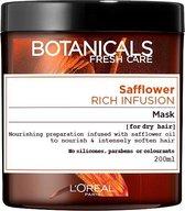 L'Oréal Paris Botanicals Safflower Rich Infusion Haarmasker - 200 ml - Droog Haar