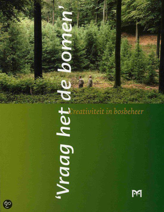 Cover van het boek ''Vraag het de bomen'' van Freddy d' Ansembourg