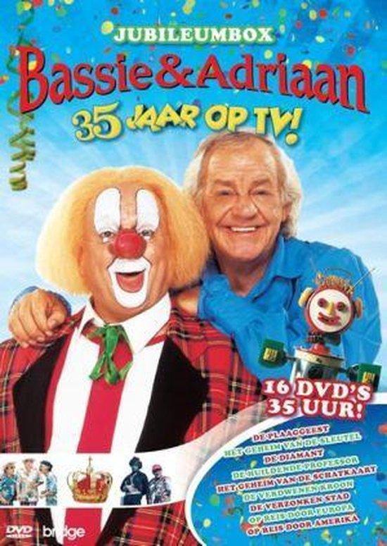 Cover van de film 'Jubileum Box - 35 Jaar Met Bassie En Adriaan'