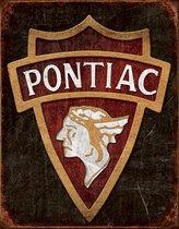 Signs-USA Pontiac-Logo - Retro Wandbord - Metaal - 40x30 cm