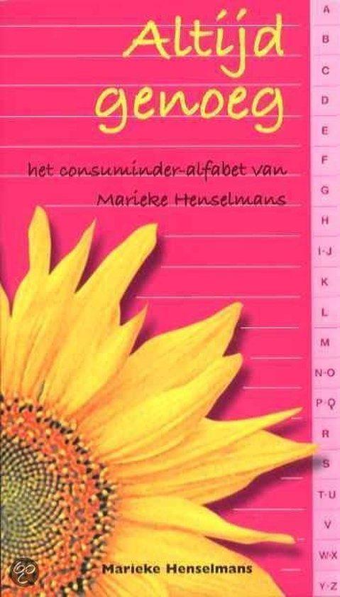 Altijd genoeg - Marieke Henselmans |