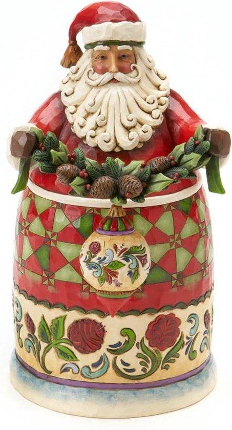 Secret Santa Jim Shore vHeartwood Creek uit 2010 collector's item