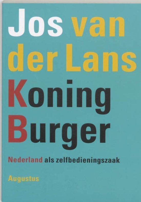 Koning Burger - Jos van der Lans pdf epub
