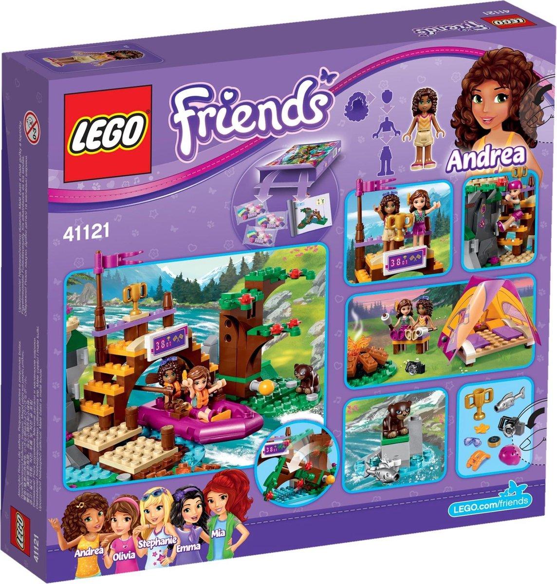 LEGO Friends Avonturenkamp Wildwatervaren - 41121
