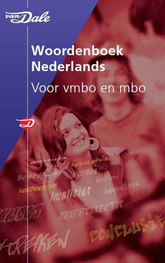 Van Dale Woordenboek Nederlands Voor Vmbo & Mbo - Onbekend |