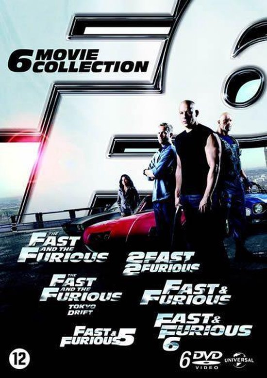Fast & Furious 1 t/m 6