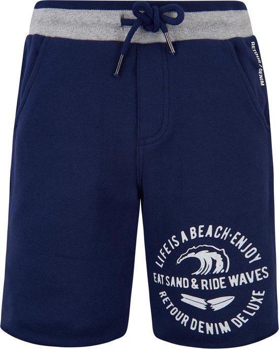 Retour Jeans Jongens Korte broek Dark indigo blue Maat 104