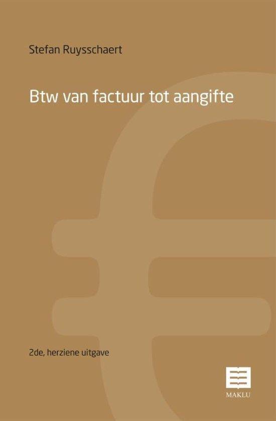 Btw van factuur tot aangifte - Stefan Ruysschaert pdf epub