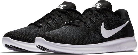 bol.com   Nike Wmns Free Rn 2017 - Black/White-Dark Grey ...