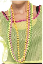 Dressing Up & Costumes   Costumes - 80s Pop - Beads Fluorescent