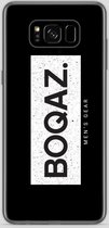 BOQAZ. Samsung Galaxy S8 Plus hoesje - Labelized Collection - Grunge print BOQAZ