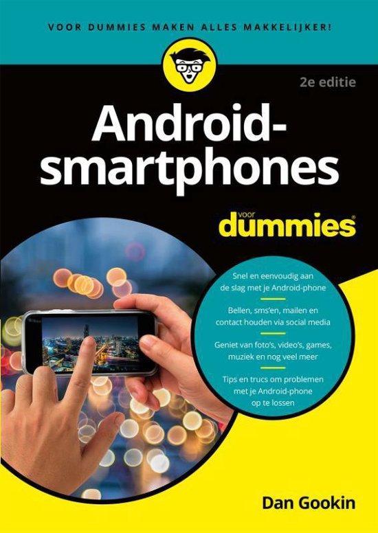 Android-smartphones voor Dummies - Dan Gookin |