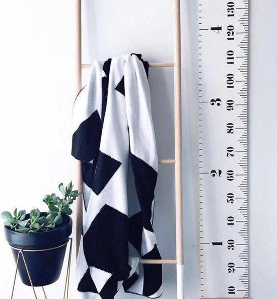 Groeimeter Kinderen - Meetlat - Kinderkamer - Scandinavisch - Nordic Babykamer - Decoratie - TOT 180 CM - nr 548 - Merkloos