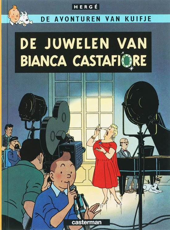 Kuifje A5 21 De Juwelen Van Bianca Castafiore - Hergé |