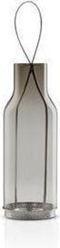 Eva Solo Lantaan Smokey grey Transparant - 25 x 9 x 26 cm