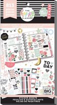 Me and My Big Idea's - Happy Planner Sticker Value Pack - Simply Lovely - 813 Pieces
