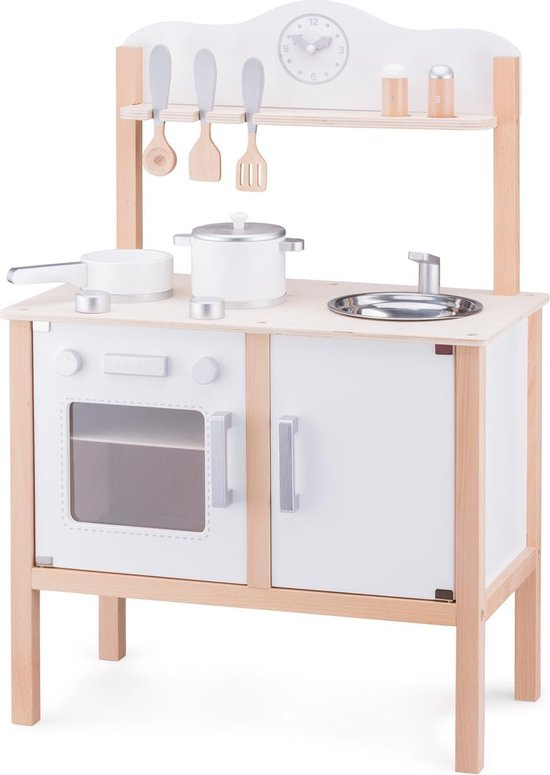 New Classic Toys - Speelkeuken - Wit - Inclusief Accessoires