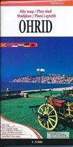 Stadsplattegrond - wegenkaart Ohrid Macedonie
