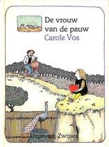 Boek cover De vrouw van de pauw van Vos