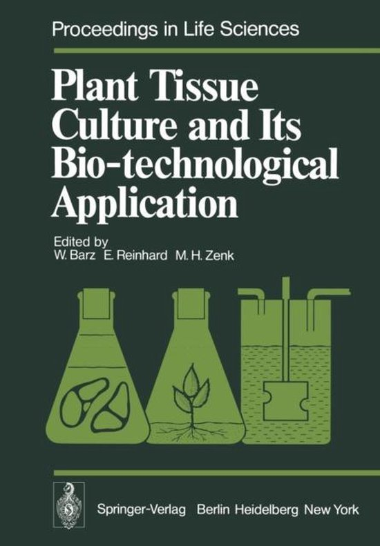 Boek cover Plant Tissue Culture and Its Bio-technological Application van  (Paperback)