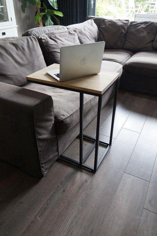 Relax Bijzettafel / Laptoptafel Eikenhout by GDLF - GDLF