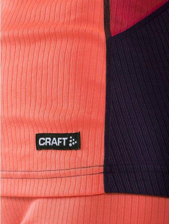 Craft Baselayer Set  Sportshirt performance - Maat S  - Vrouwen - oranje/rood/zwart - Craft