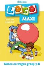 Loco Maxi - Rekenen Meten en wegen groep 7-8