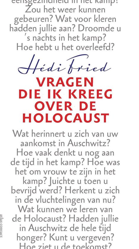 Vragen die ik kreeg over de Holocaust - Hédi Fried |