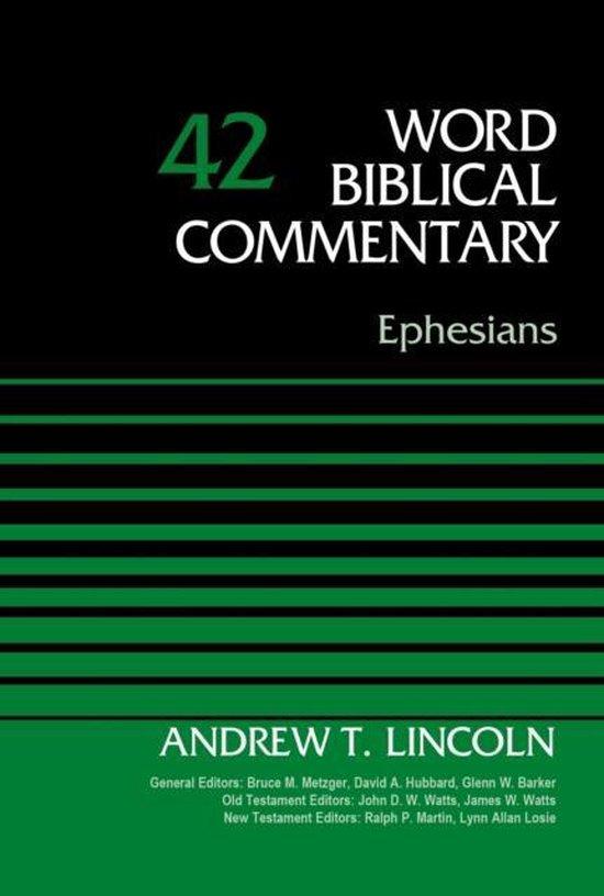 Boek cover Ephesians, Volume 42 van Dr. Andrew t. Lincoln