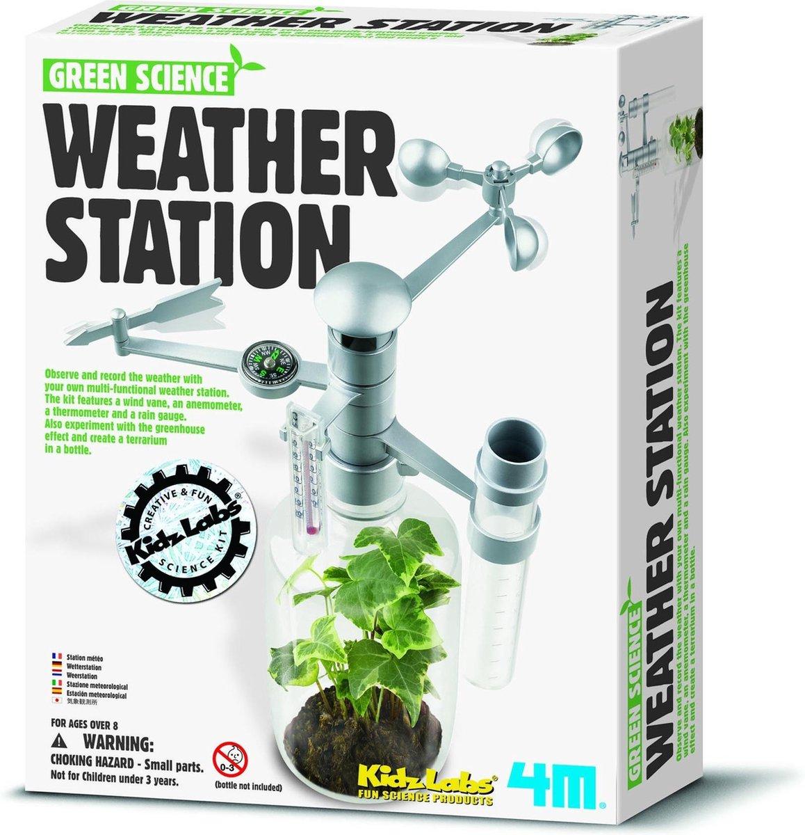 4M Kidzlabs Green Science - Weerstation