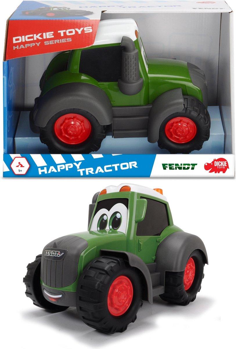Dickie Happy Fendt Tractor Groen - Speelgoedvoertuig
