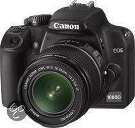 Canon EOS 1000D + 18-55DC