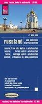 Reise Know-How Landkarte Russland - vom Baikalsee bis Wladiwostok 1 : 2 000 000