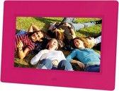 Braun Photo Technik DigiFrame 709 7'' Roze digitale fotolijst