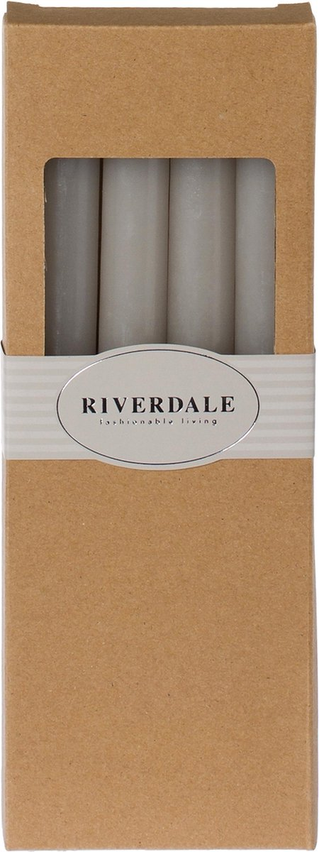Riverdale Dinerkaars - set van 4 - 25cm - grijs - Riverdale