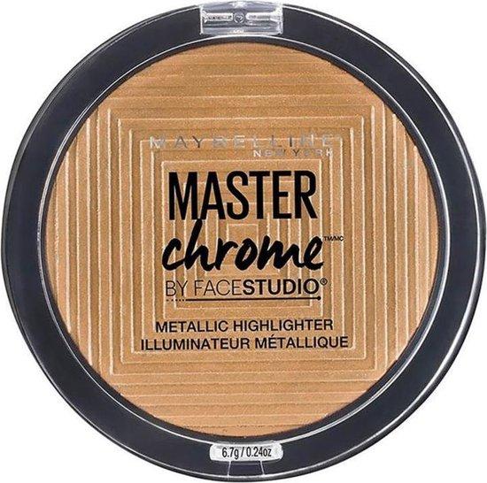 Maybelline Master Chrome - 200 - Highlighter gezichtspoeder 1