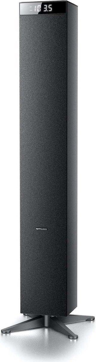Muse M-1280 BT - Bluetooth luidspreker met radio en USB - zwart