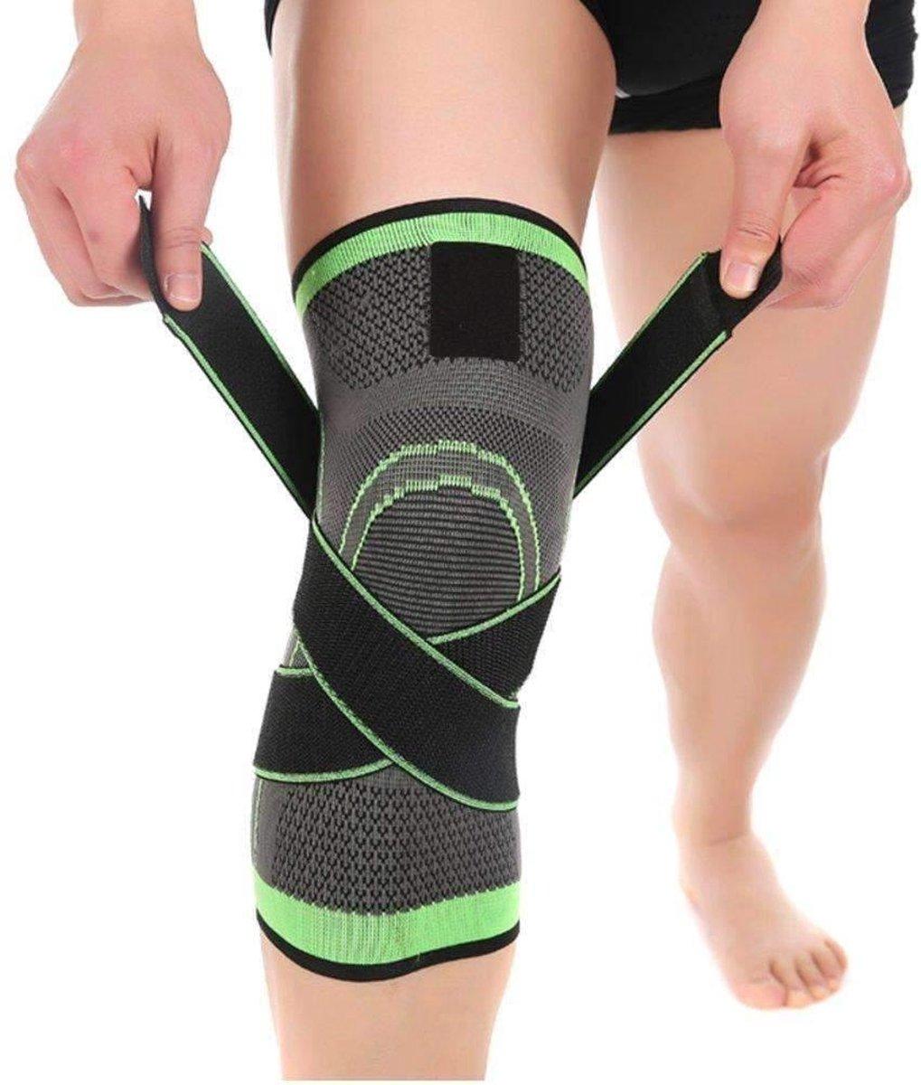 3D professionele kniebrace - Kniebrace sport - knieband - Compressieband - Kniebrace volwassenen - m