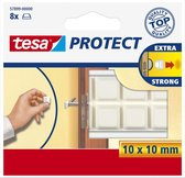 Tesa Protect Beschermblokjes - Wit - 10 x 10 mm
