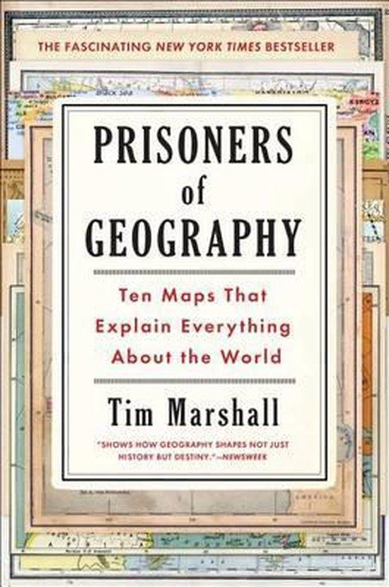 Boek cover Prisoners of Geography van Tim Marshall (Hardcover)