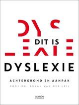 Boek cover Dit is dyslexie van Aryan van der Leij